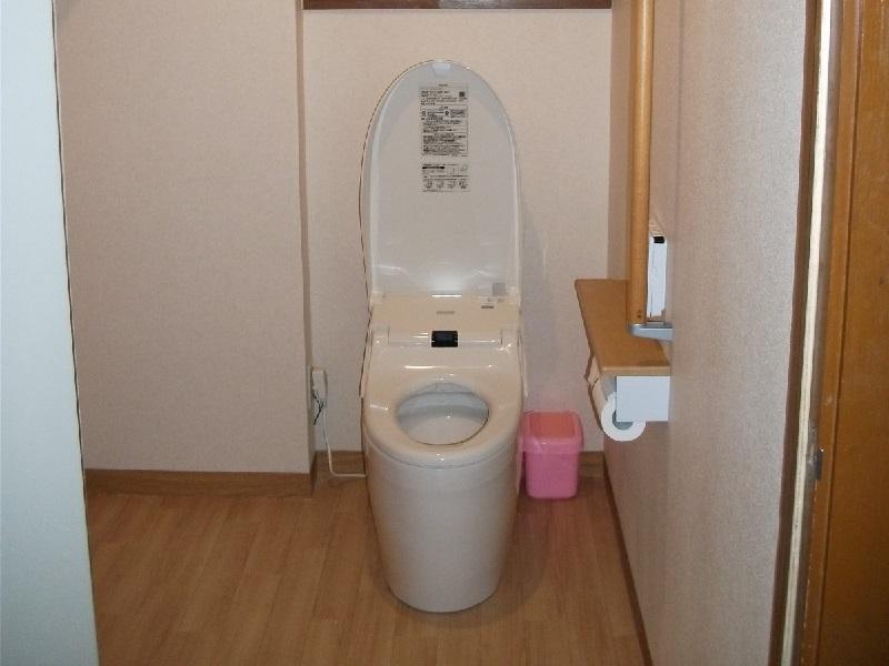 リフォーム事例トイレ