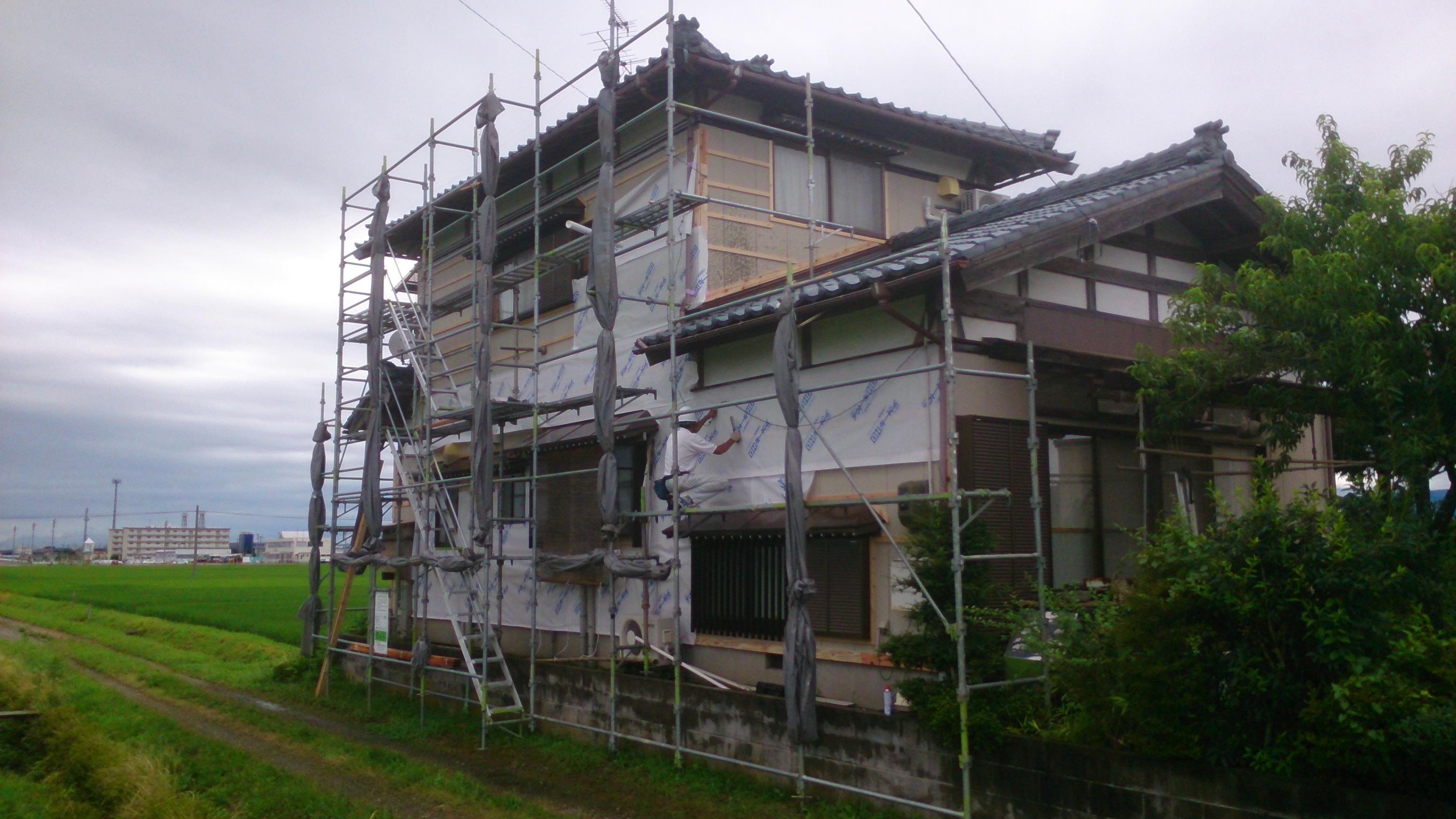 リフォーム事例外壁・屋根